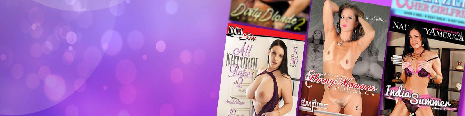 Hottest Pornstars on Adult DVDs