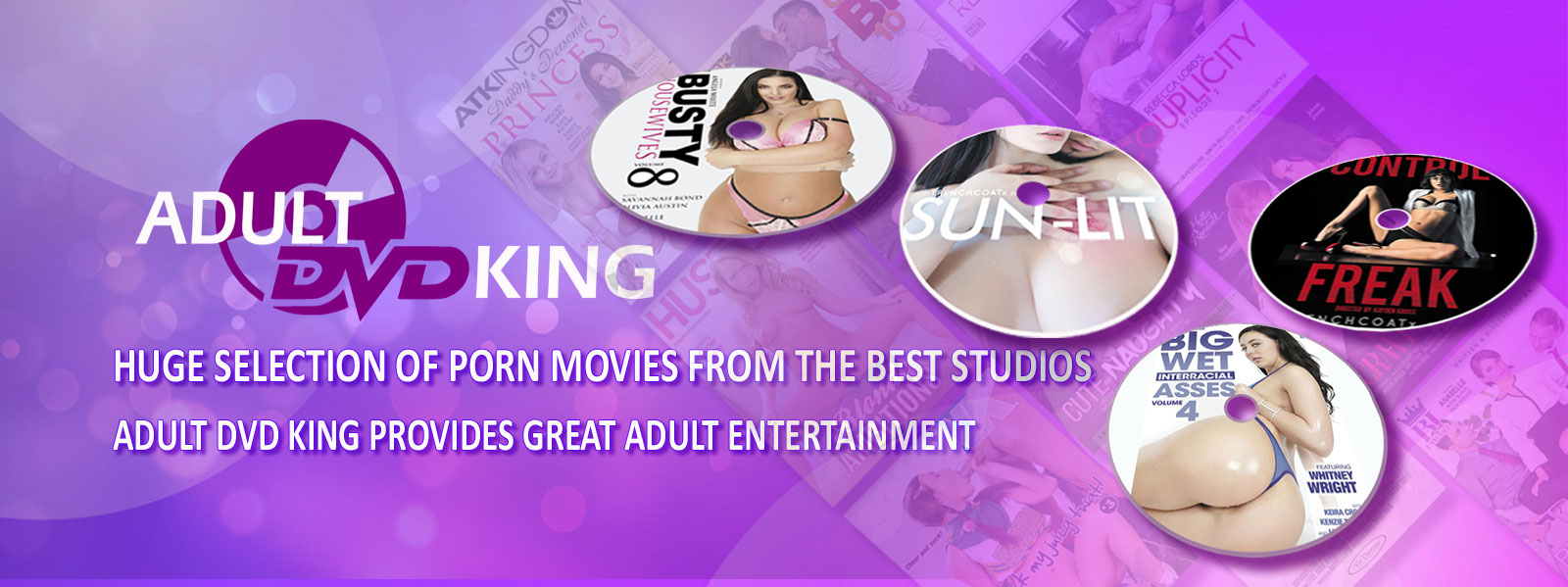 Huge selection of porn movies from the best studios - Adult DVD King provides great adult entertainment